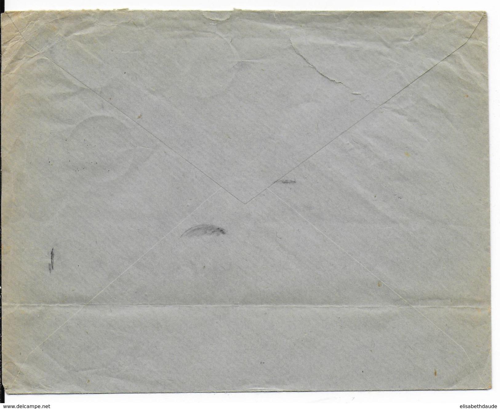 1939 - PRECURSEUR BOHEME-MORAVIE - UTILISATION TIMBRES TCHEQUES Sur ENVELOPPE De PRAGUE => NICE - Lettres & Documents