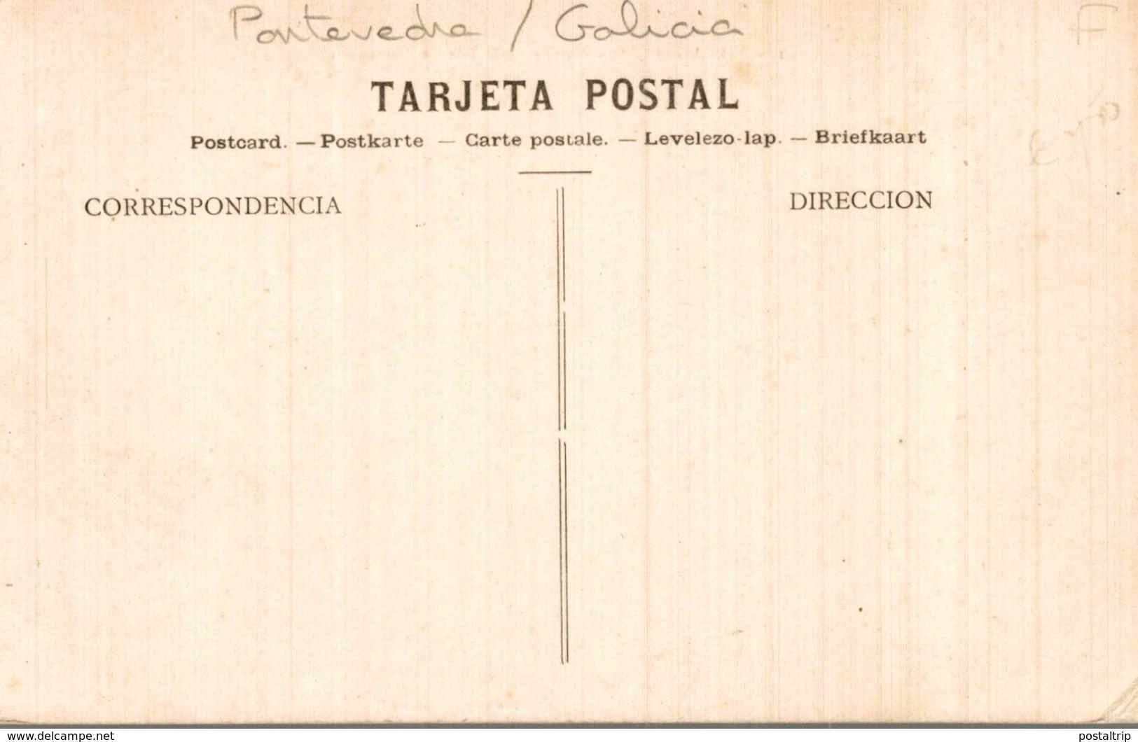 PONTEVEDRA VILLAGARCIA Nº 1 MUELLE DE LA ISLA DE CORTEGADA - Pontevedra