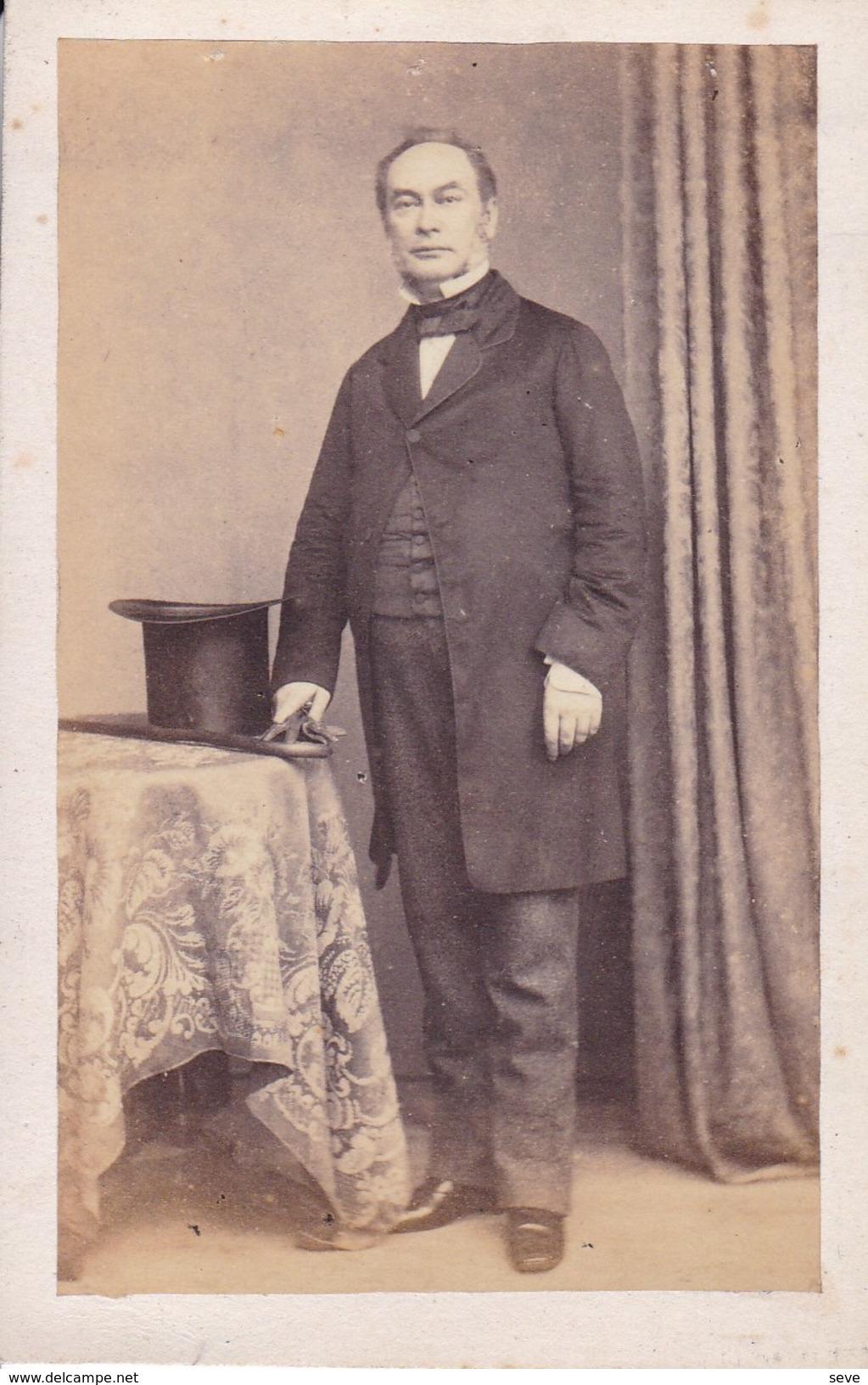 NAPLES NAPOLI Fotografia CDV Siniori MARTORELLI Par Carlo FRATACCI Années 1860-1870 - Photographs