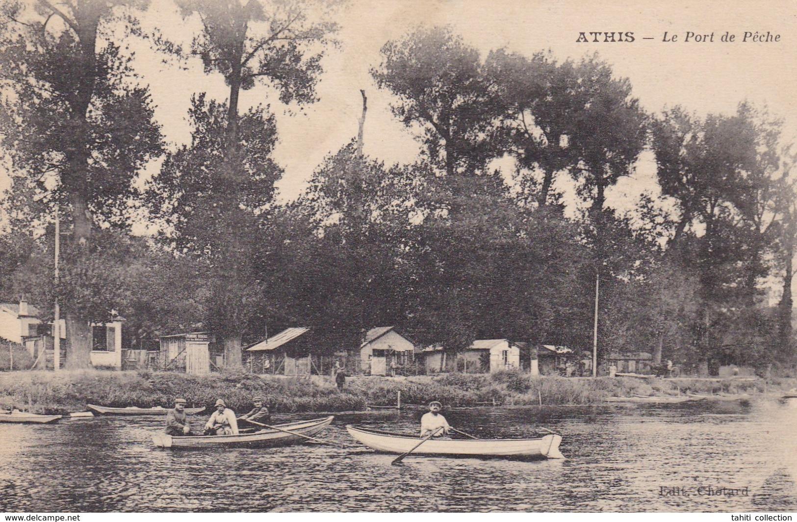 Le Port De Pêche. - Athis Mons