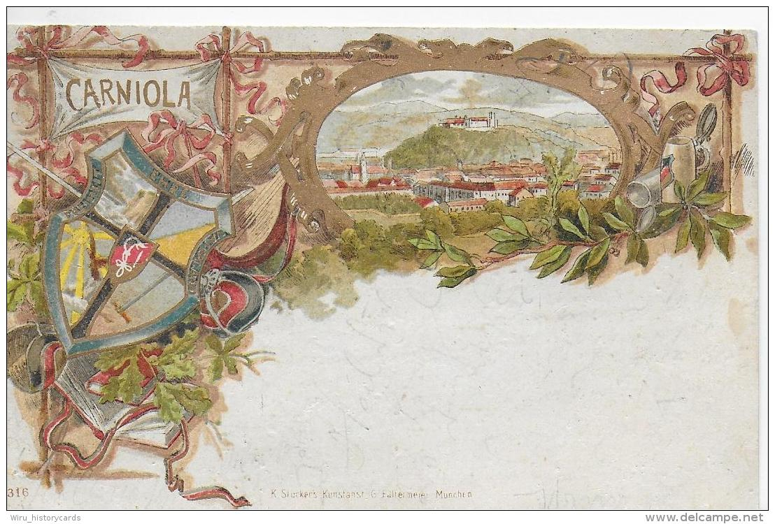 AK 0769  Carniola ( Krain ) - Lithographie Um 1905 - Slowenien