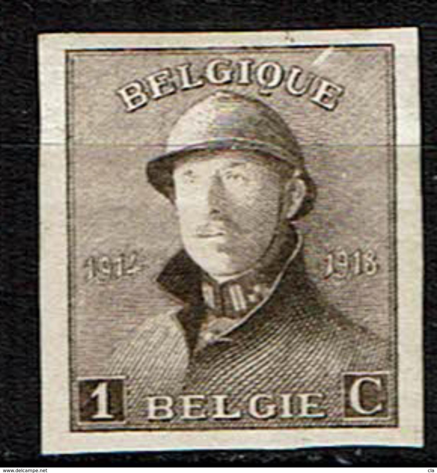 165  *  Non Dentelé - 1919-1920 Roi Casqué