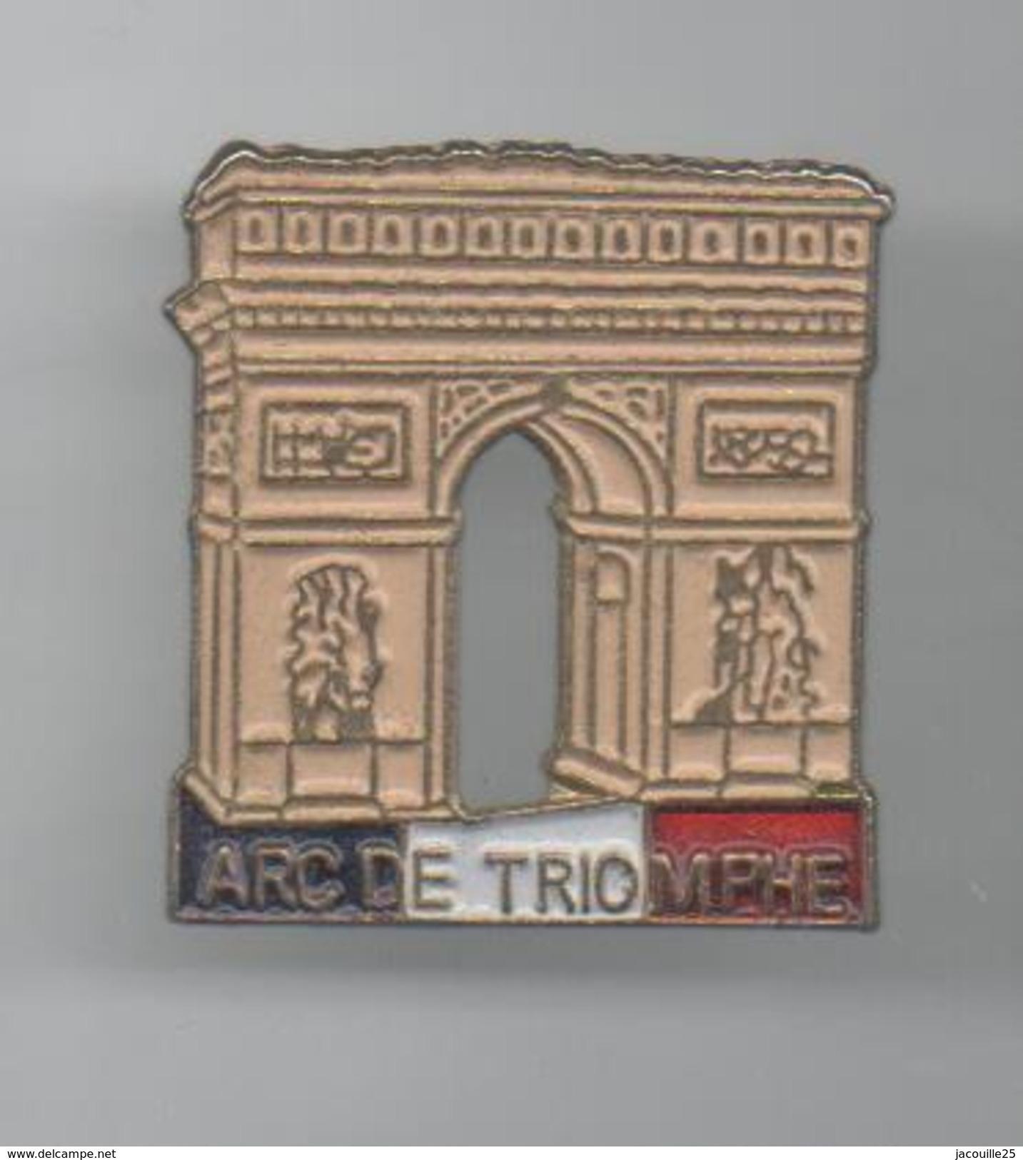 PINS PIN'S PARIS VILLE ARC DE TRIOMPHE Metal - Villes