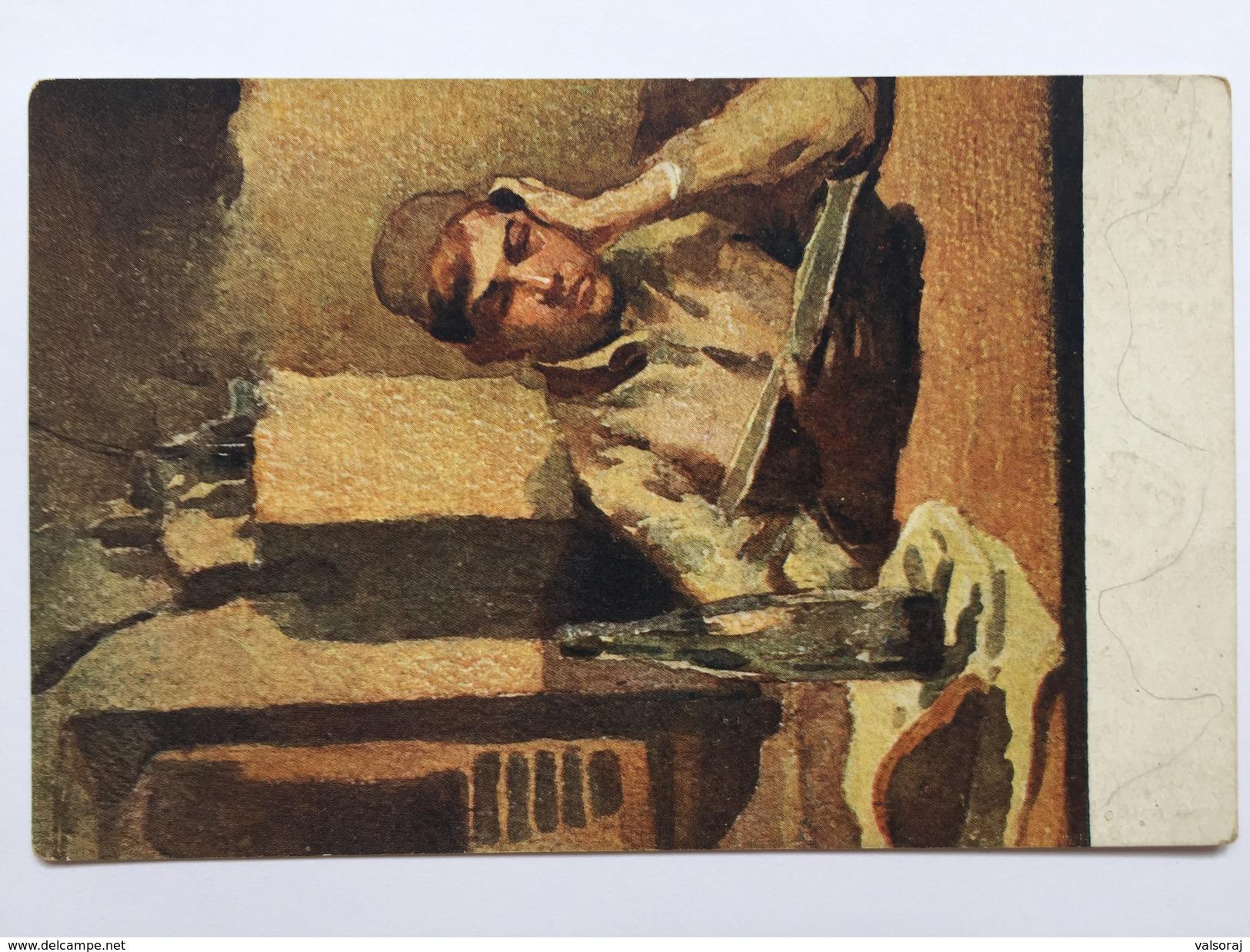 8 Prima Guerra (pittore Bartoš) - Finalmarina - Italien