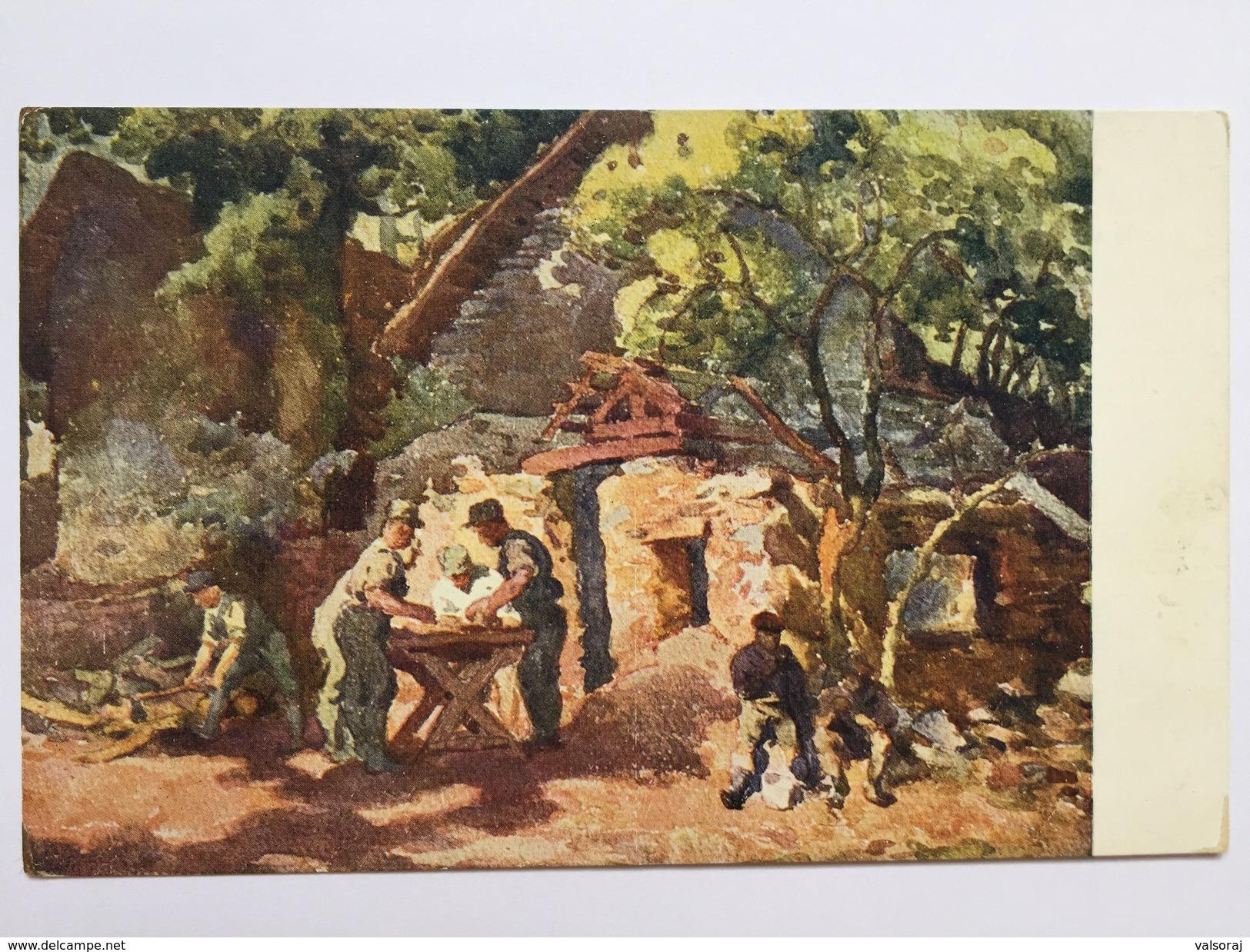 13 Prima Guerra (pittore Bartoš) - Valdagno - Vicenza