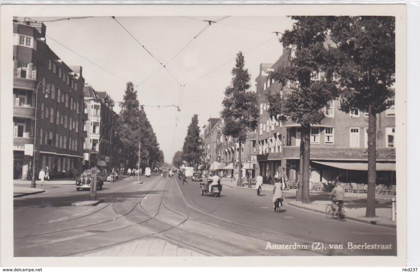 Amsterdam (Z.) Van Baerlestraat Verkeer Fietsers    1064 - Amsterdam