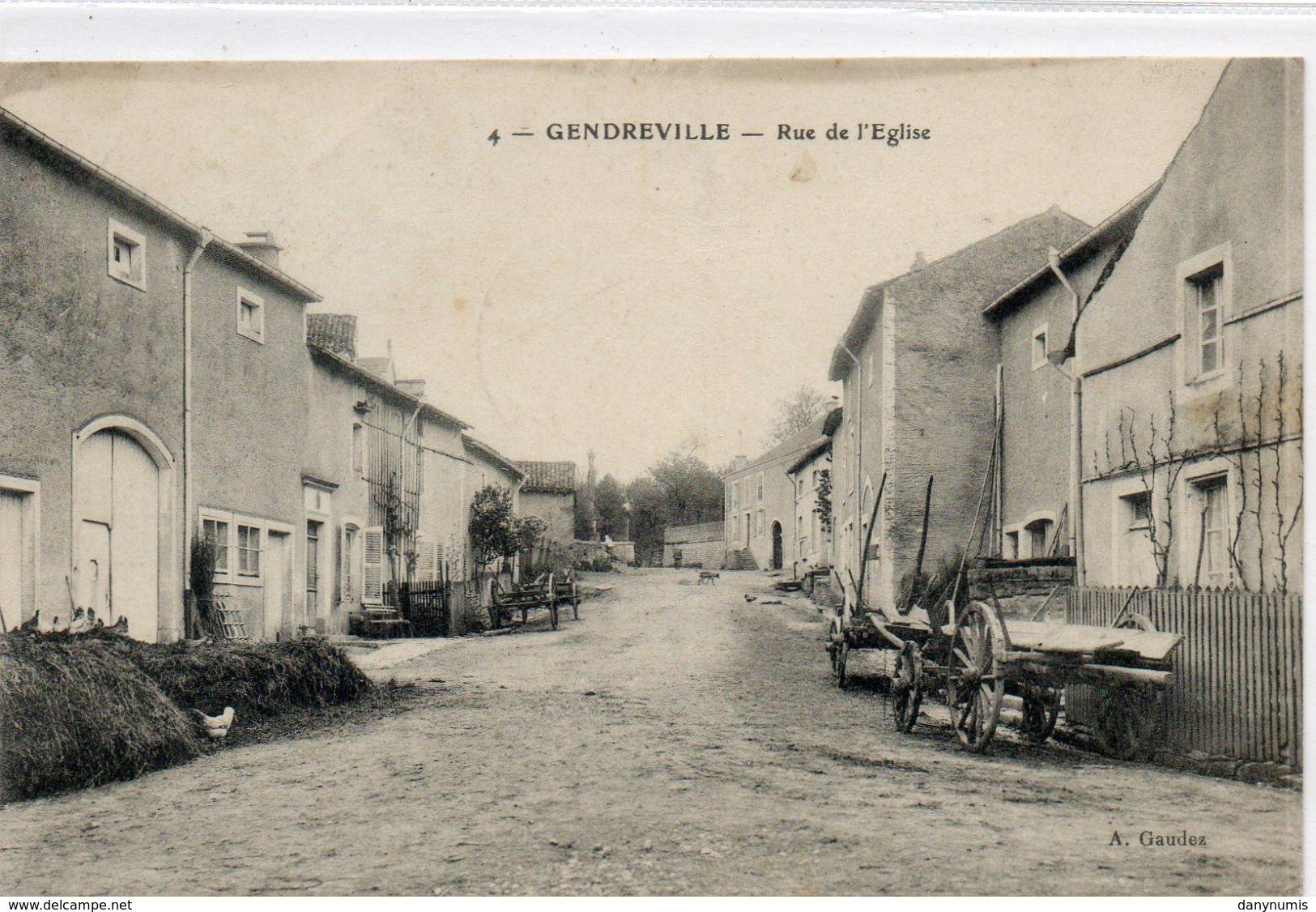 88 GENDREVILLE    Rue De L'église - France