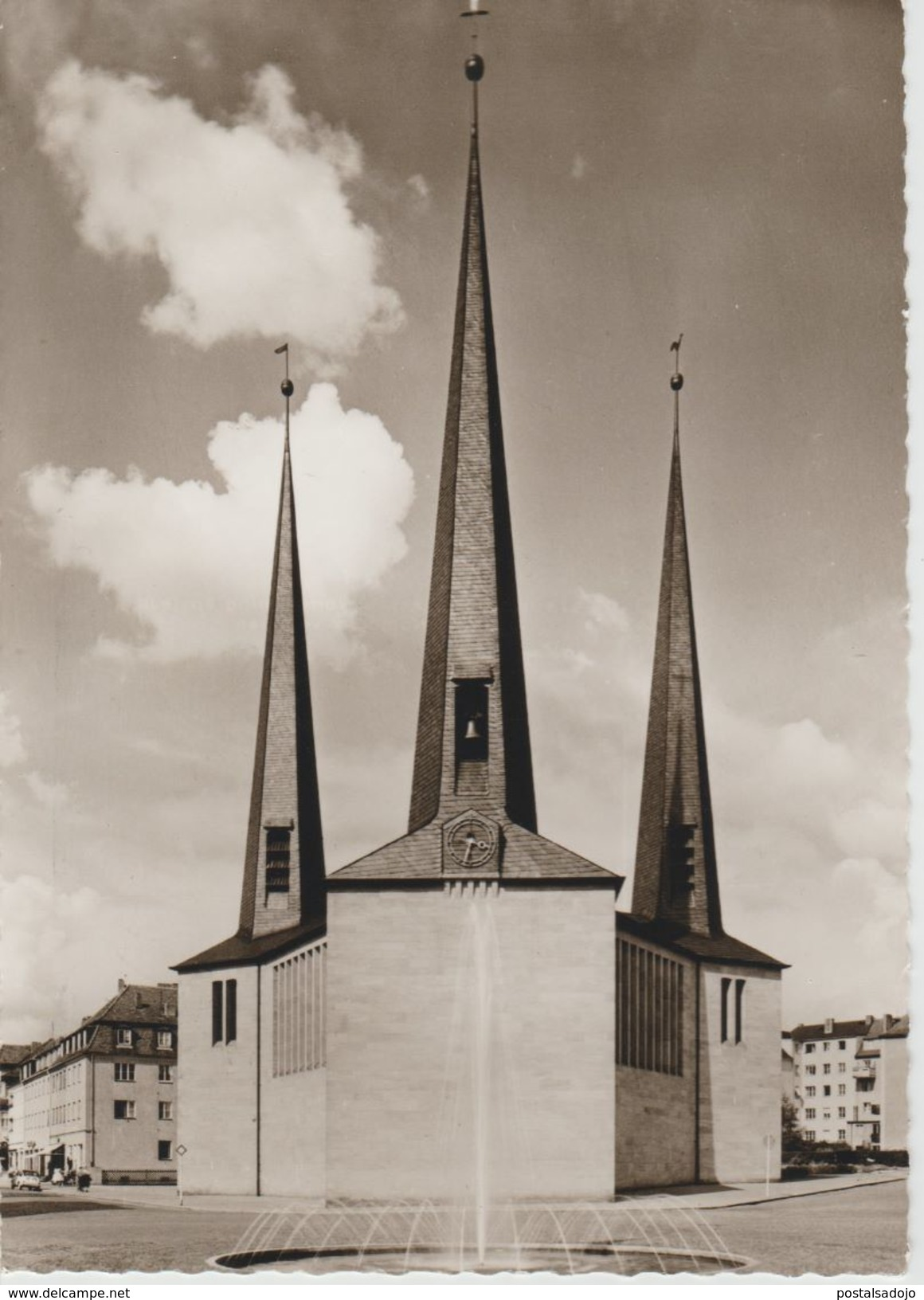 (DE1484) BAYREUTH. EVANG. LUTH CHRISTUSKIRCHEN - Bayreuth