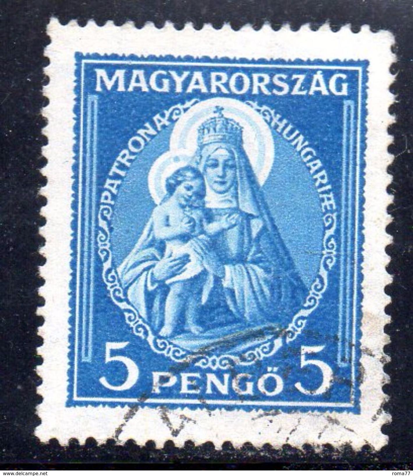 XP3387 - UNGHERIA , 5 Pengo Usato Yvert N. 447 - Ungheria