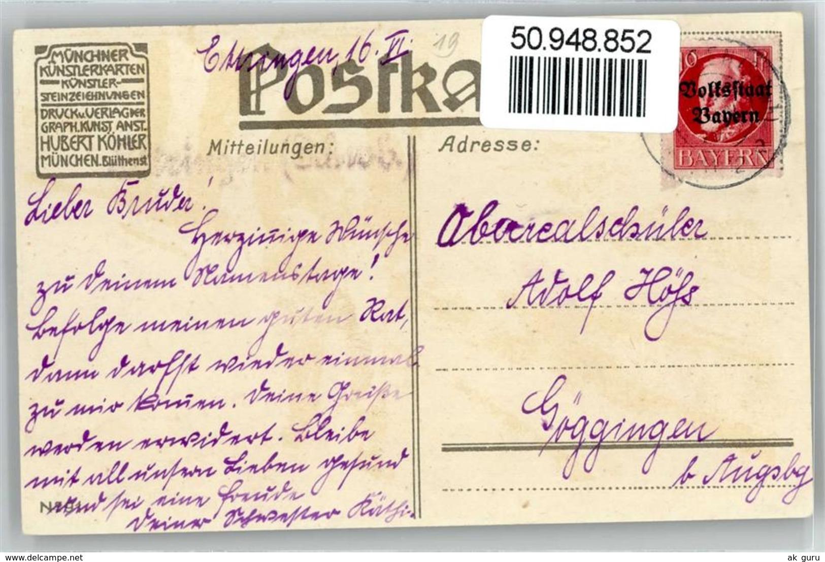 50948852 - Hey, Paul Fruehlingswanderung - Autres Illustrateurs