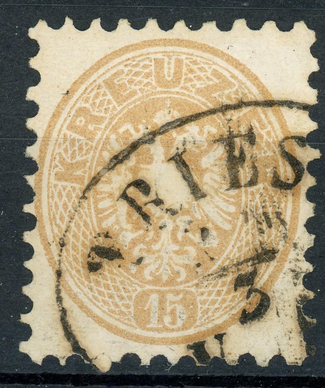 Nr. 34 Ovalstempel TRIEST - 1850-1918 Imperium