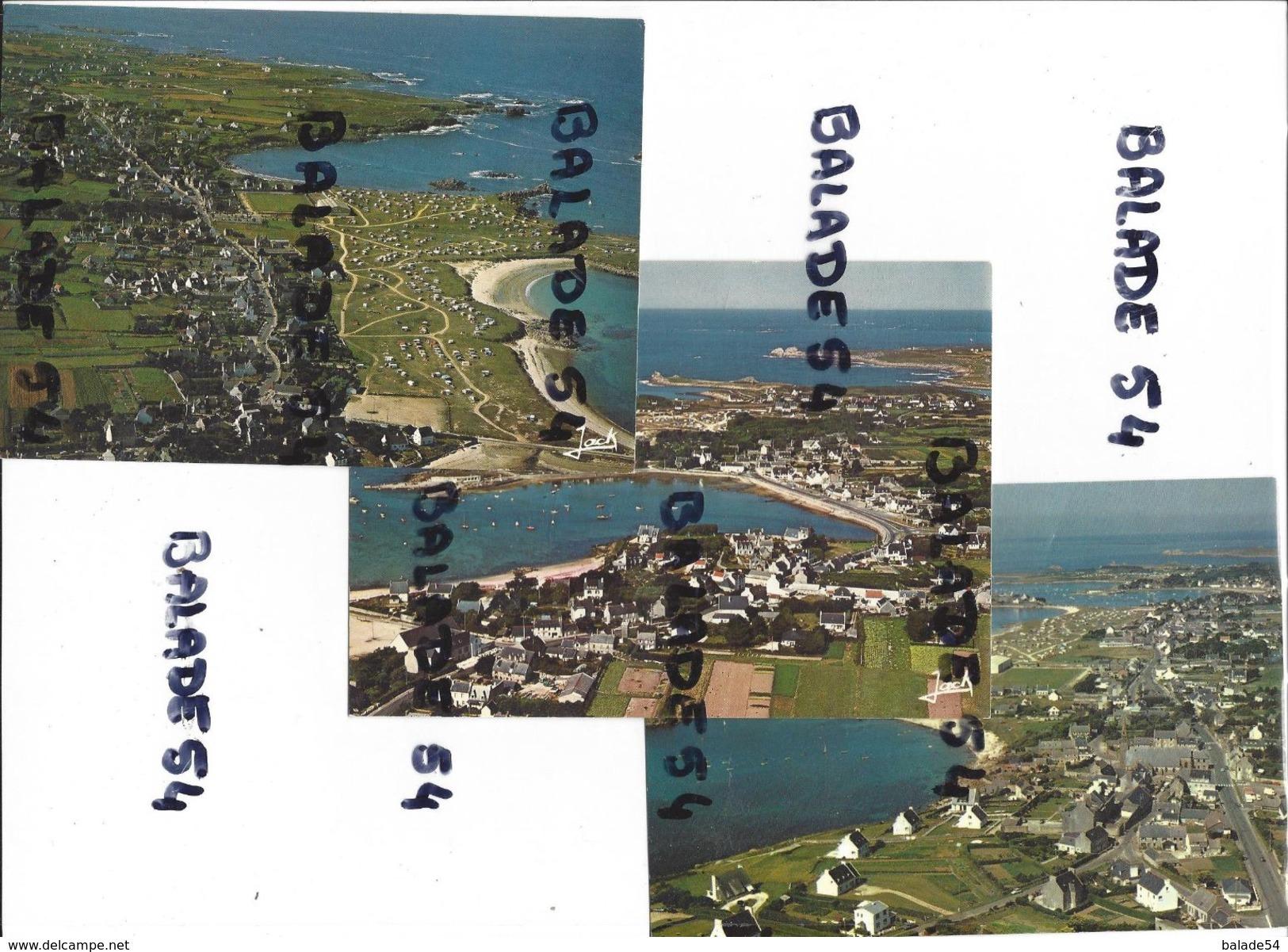 3 CPM - ARGENTON - PORSPODER (29) Vue Générale Et Vue D'ensemble Vers Argenton - Frankreich