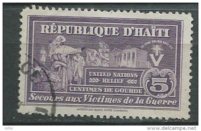 Haiti - Bienfaisance  - Yvert N° 4 Oblitere -  Aab15015 - Haiti
