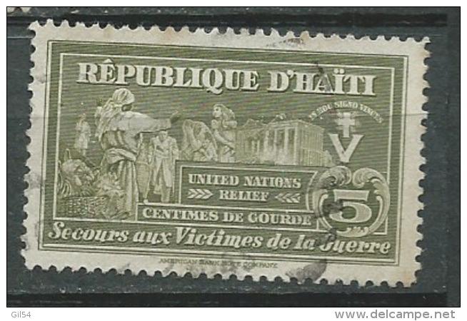 Haiti - Bienfaisance  - Yvert N° 7 Oblitere -  Aab15023 - Haiti
