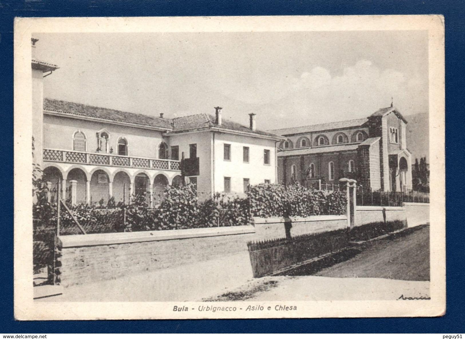 Buia. Urbignacco (Udine). Asilo E Chiesa Di Cristo Re (1942). 1948 - Udine