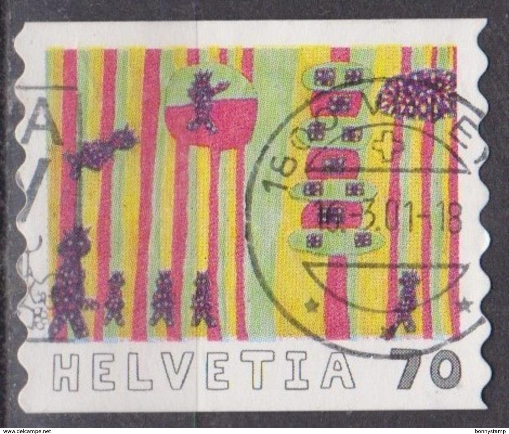 Svizzera, 2000 - 70c A Perfect World - Nr.1082 Usato° - Switzerland
