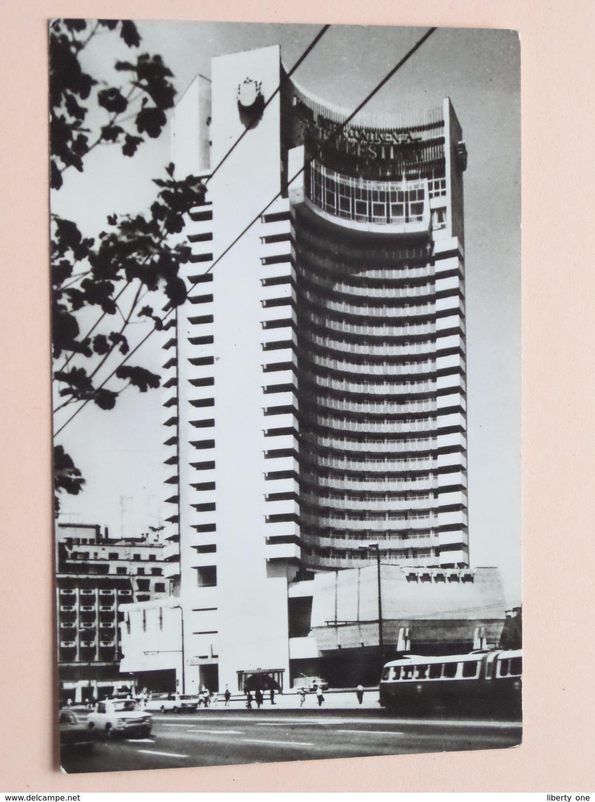 Hotel INTERCONTINENTAL Bucharest Blvd Nicolae Balcescu () Anno 1978 ( Zie Foto Details ) !! - Roumanie