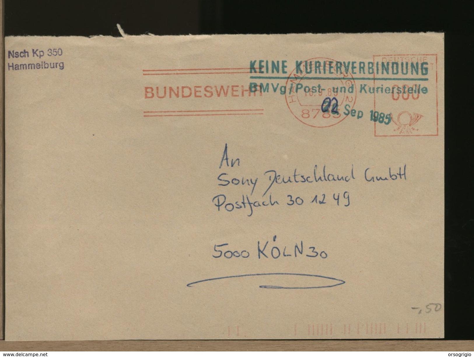 GERMANY - EMA - BUNDESWEHR  HAMMELBURG - BRD