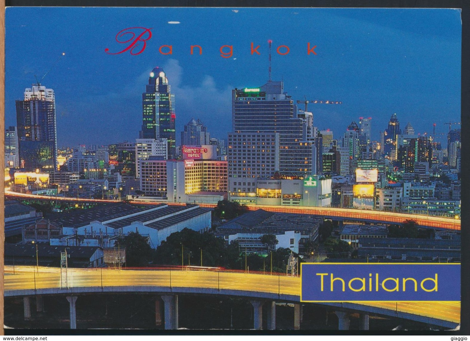 °°° 8735 - THAILAND - BANGKOK - 1955 With Stamps °°° - Tailandia