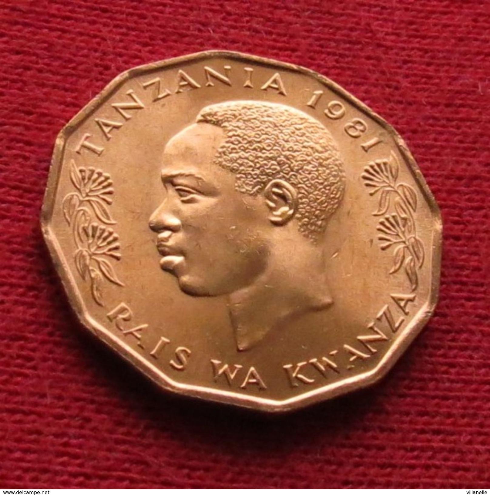 Tanzania 5 Senti 1981  Tanzanie UNCºº - Tanzanie