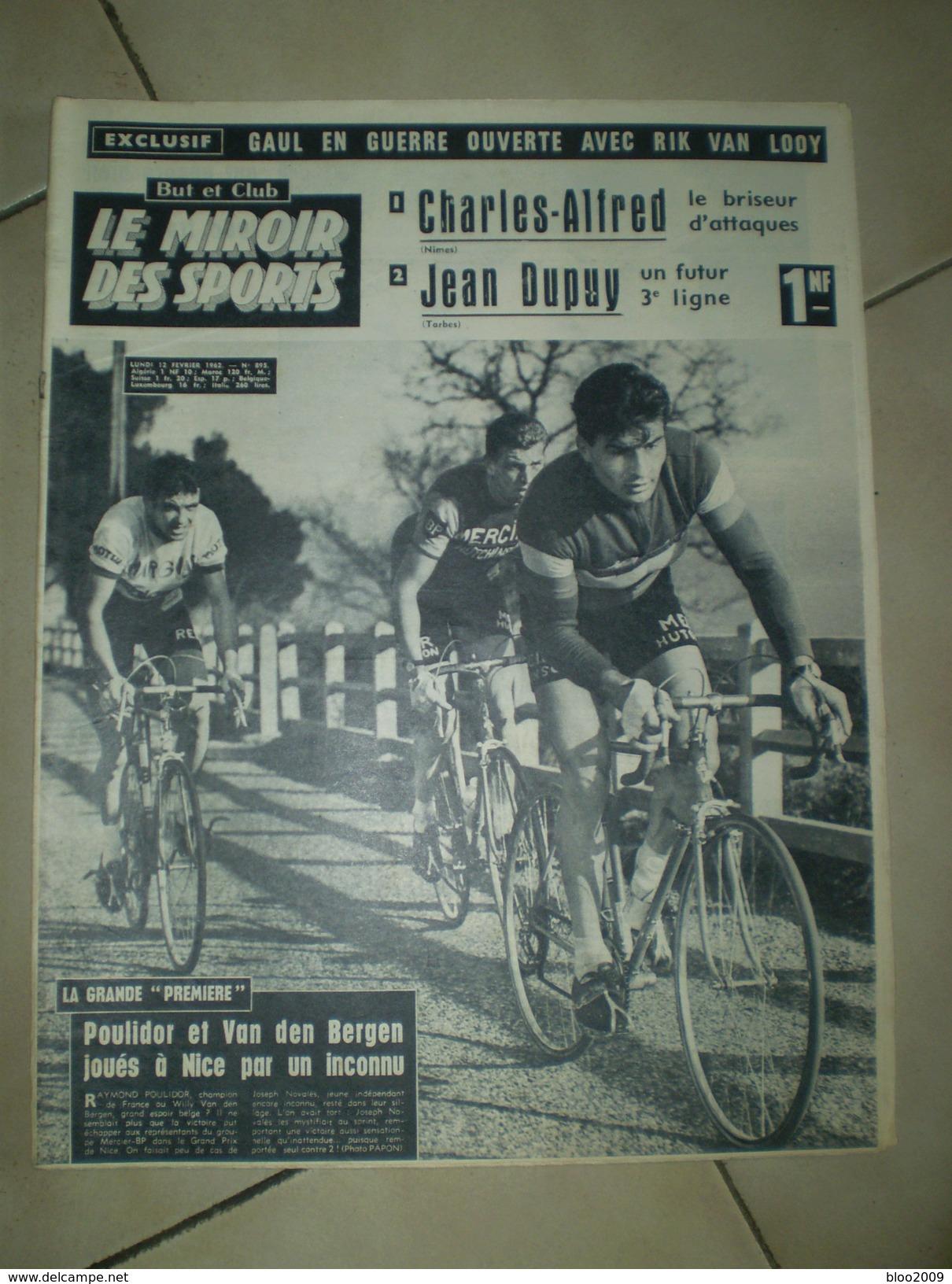 REVUE But Et Club LE MIROIR DES SPORTS N° 895 1962 - Sport