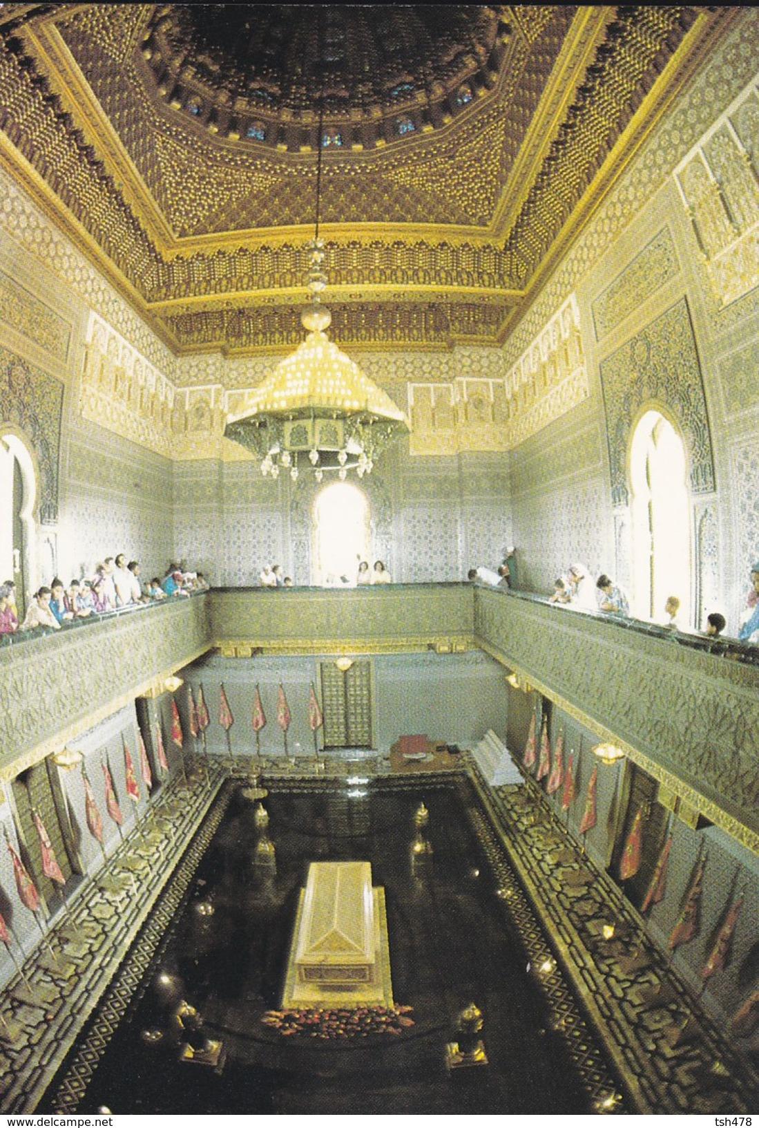 MAROC---RABAT---intérieur Du Mausolée De S. M. Mohammed V---voir 2 Scans - Rabat