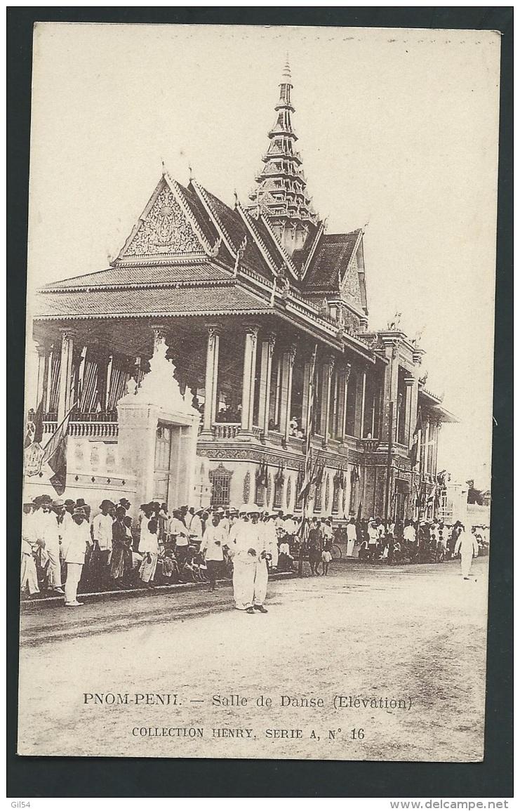 Cambodge - Pnom-Penh - Salle De Danse ( élévation ) Collection Henry )   Odi05 - Cambodia