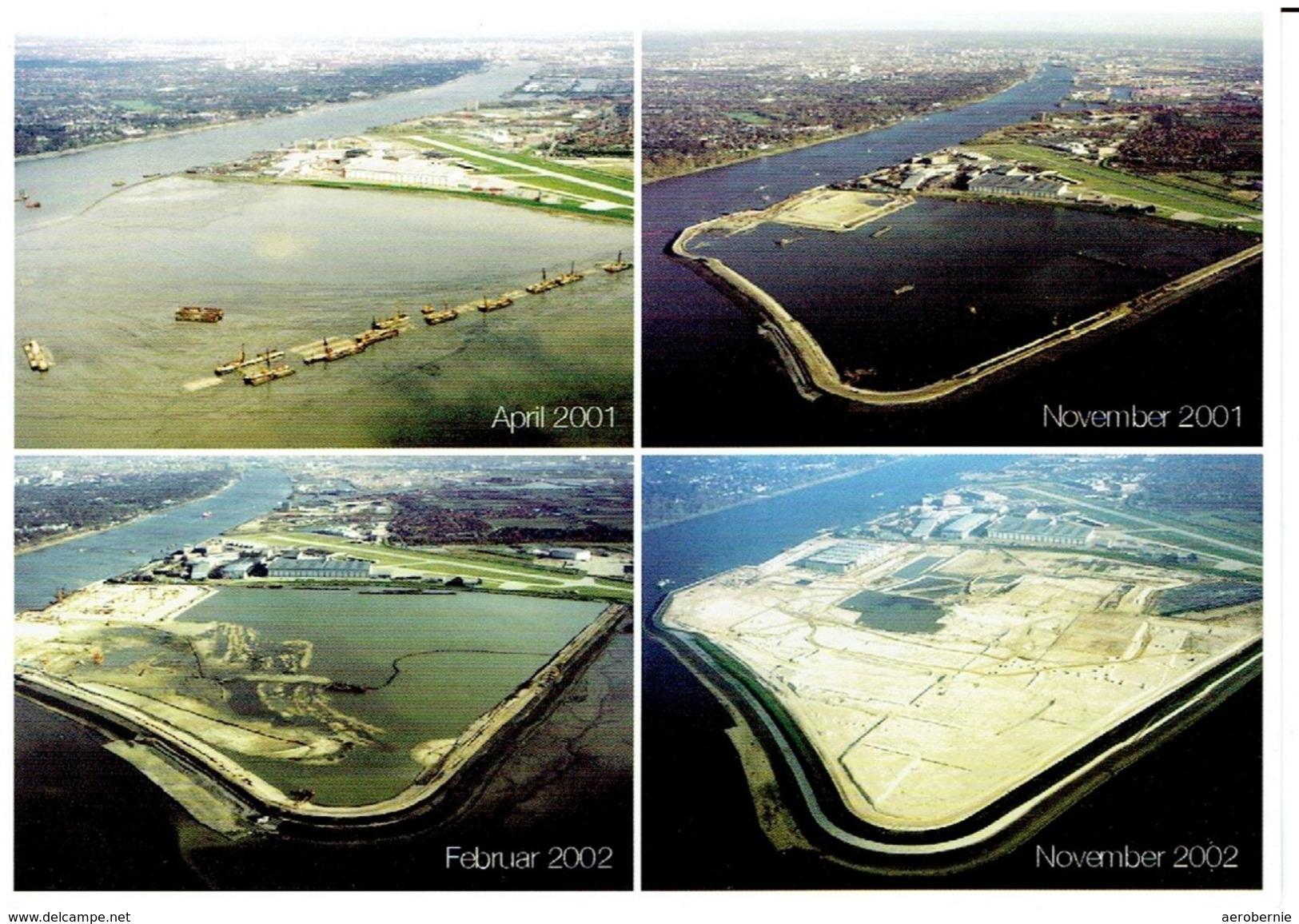 Werbekarte AIRBUS - Werkserweiterung Mühlenberger Loch (2001/2002) - Aerodrome