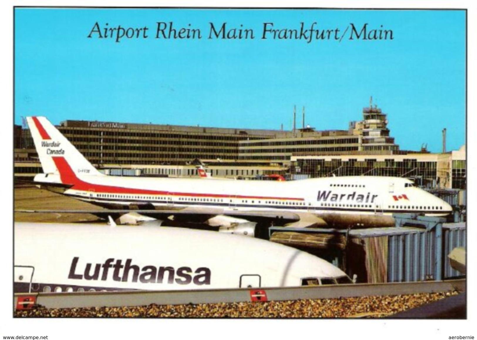 Flughafen FRANKFURT - Mit Wardair Boeing 747 - Aerodrome