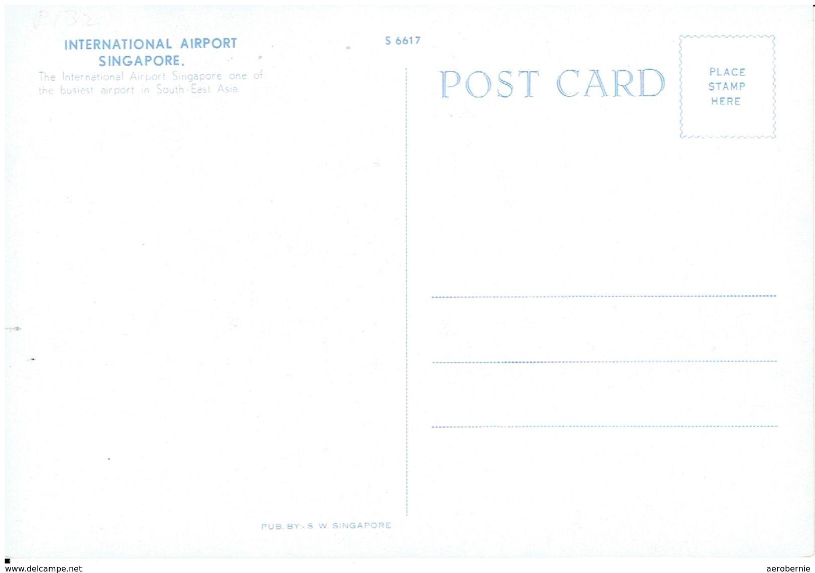 Airport SINGAPORE International / Mit MSA DeHavilland Comet 4 - Aerodrome