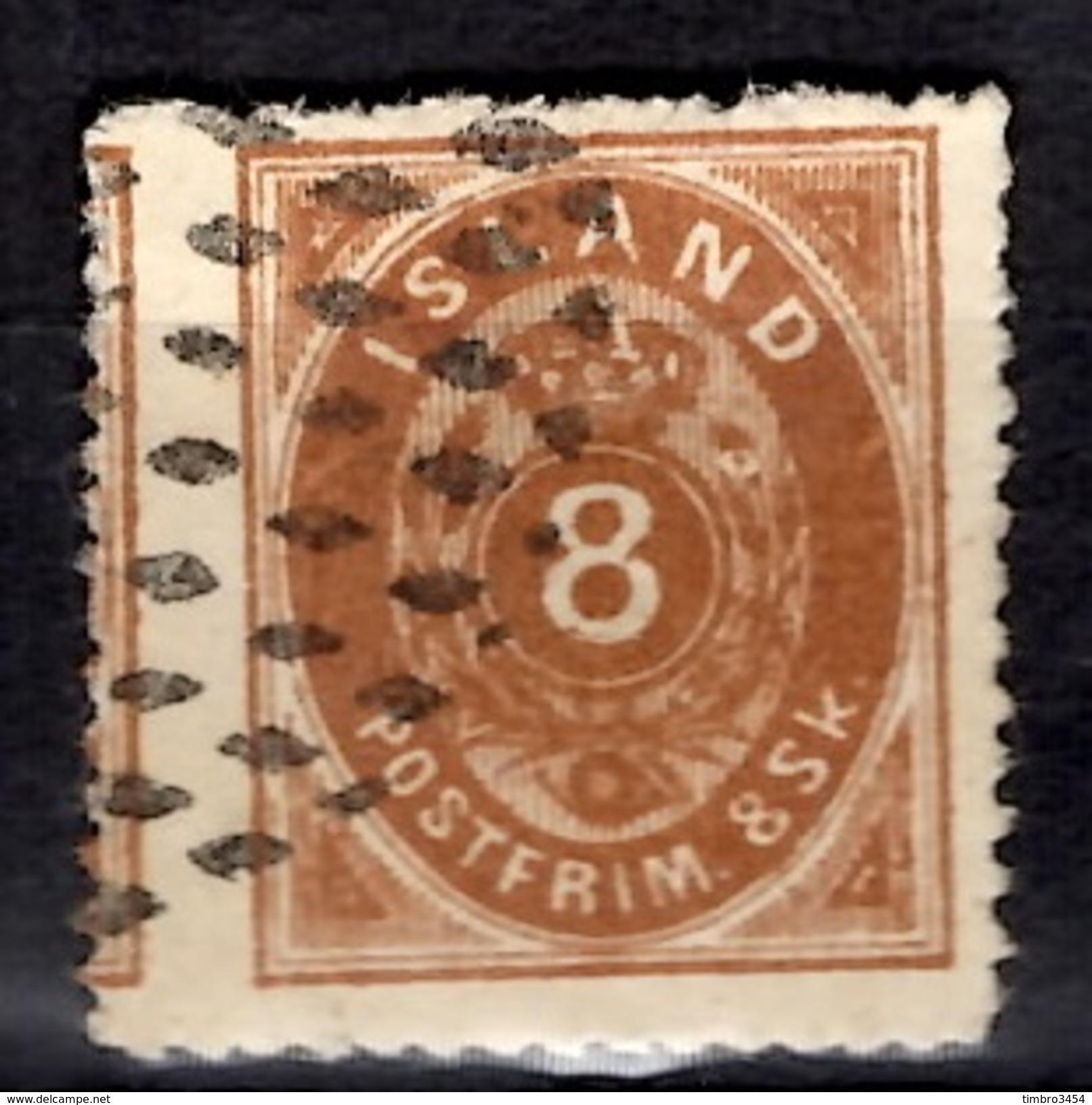 Islande YT N° 4 Oblitéré. Rare! B/TB. A Saisir! - Oblitérés