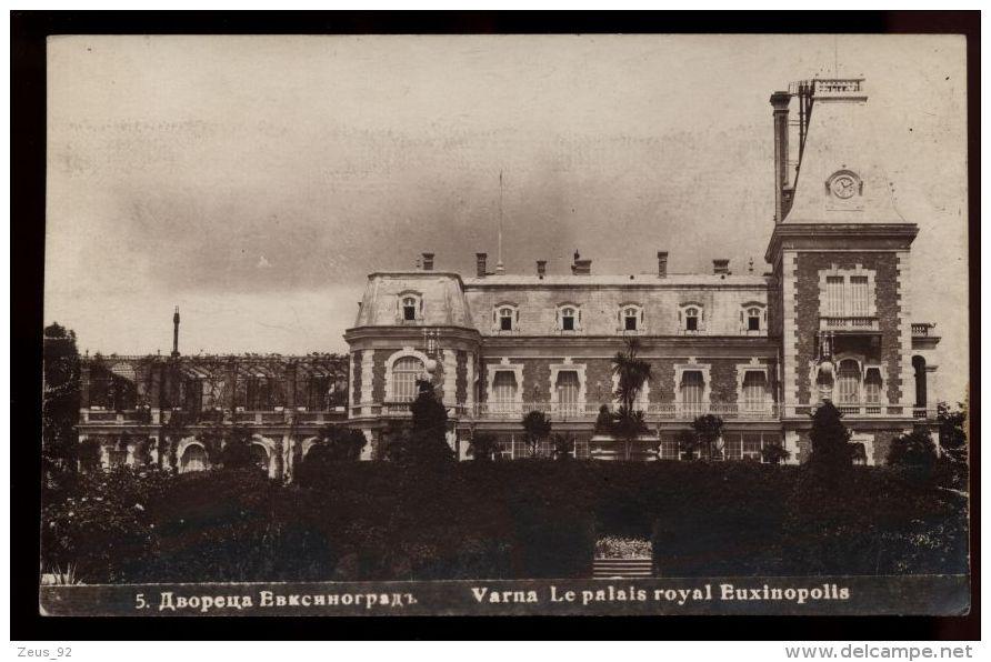 B3892 BULGARIA - VARNA - PALAIS ROYAL EUXINOPOLIS - Bulgarien