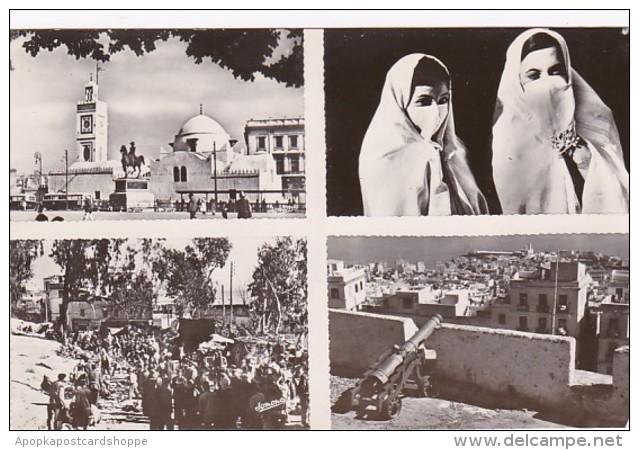 Algeria Alger Multi View Real Photo