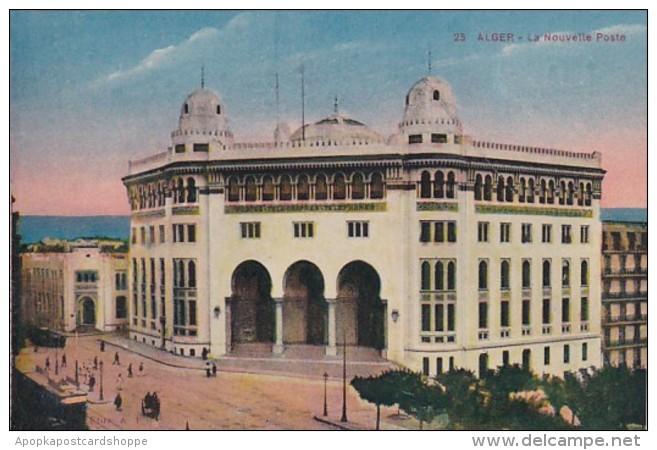 Algeria Alger La Nouvelle Poste The New Post Office