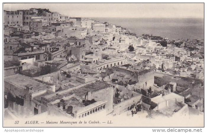 Algeria Alger Maisons Mauresques de la Casbah