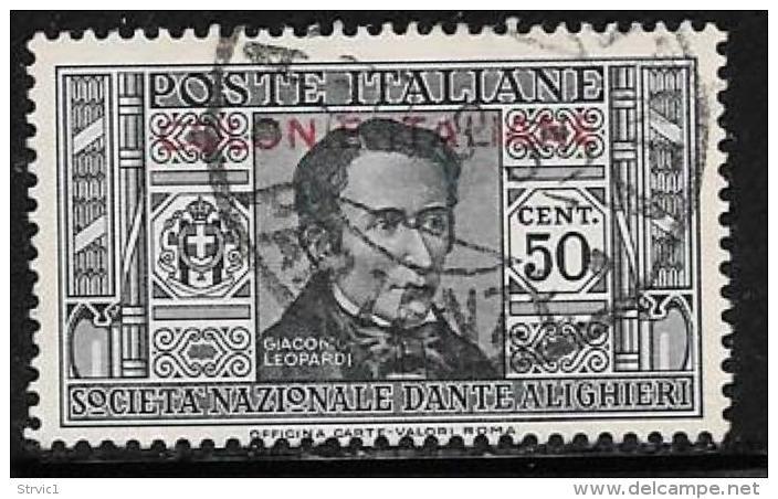 Italian Colonies General, Scott # 6 Used Italy Dante Overprinted, 1932 - General Issues