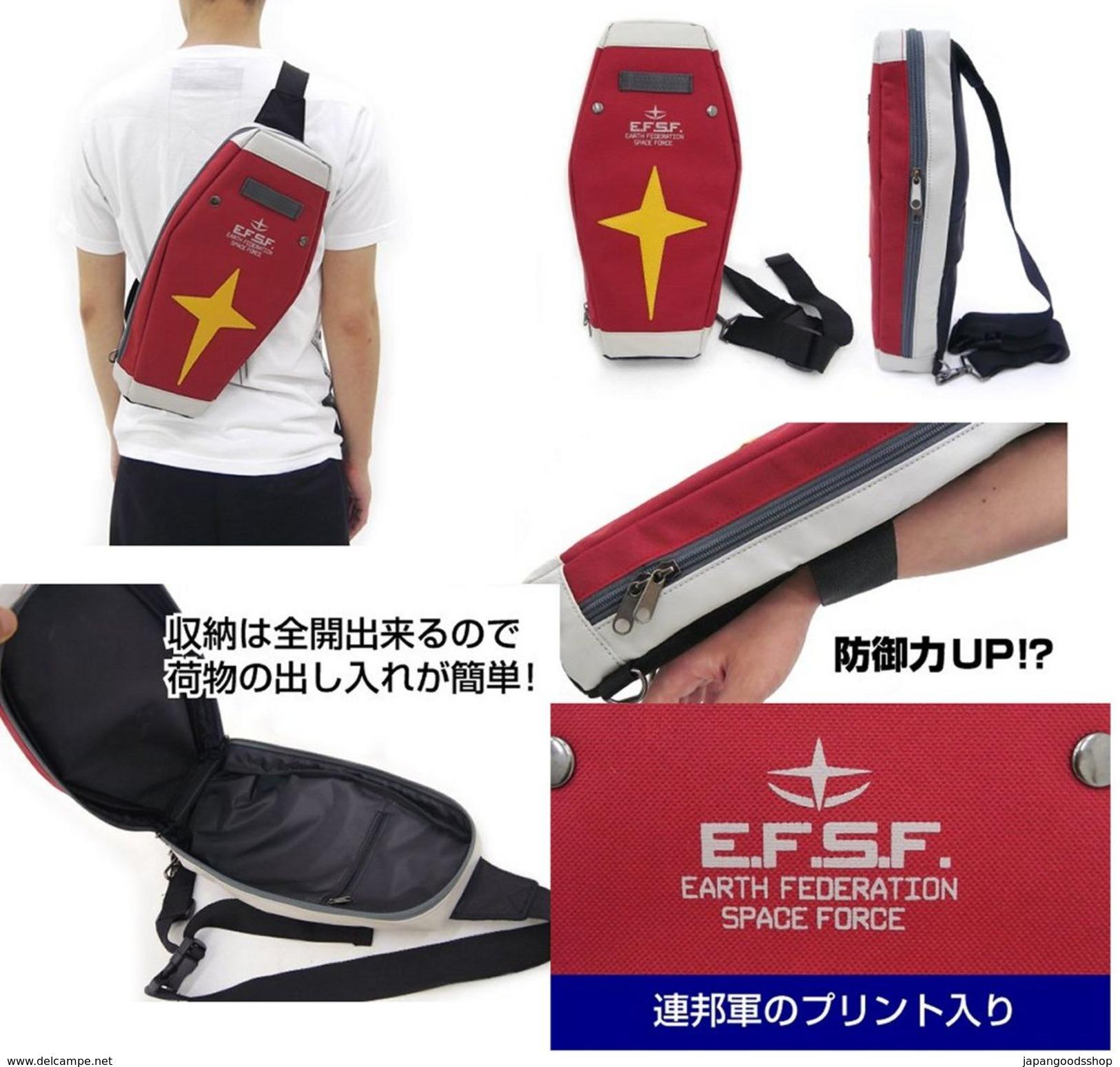 Gundam : RX-78-2 Shield Bag ( Red ) - Theatre, Fancy Dresses & Costumes