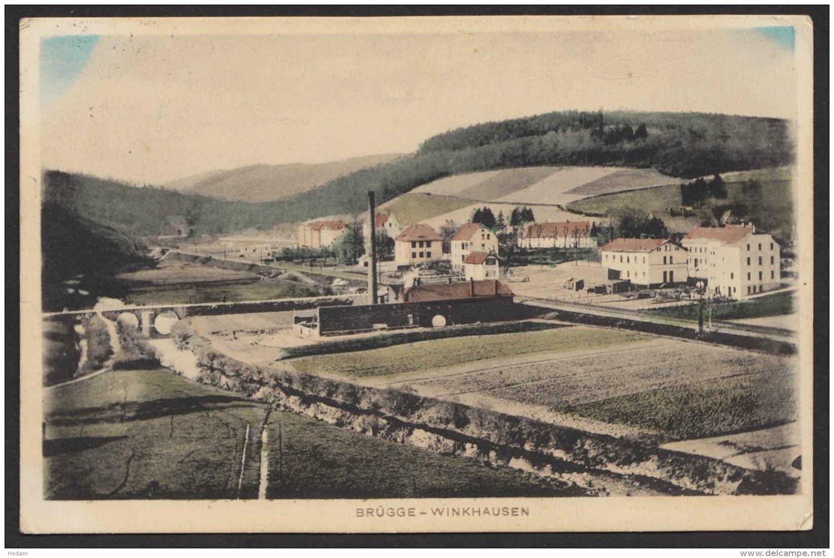 Brügge- Winkhausen, Col. Karte, 1913 Gelaufen - Deutschland