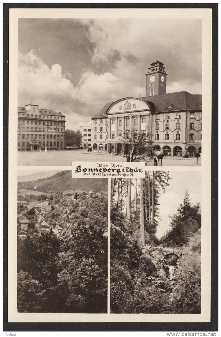 Sonneberg. Mehrbild- Fotokarte, 1955 - Sonneberg
