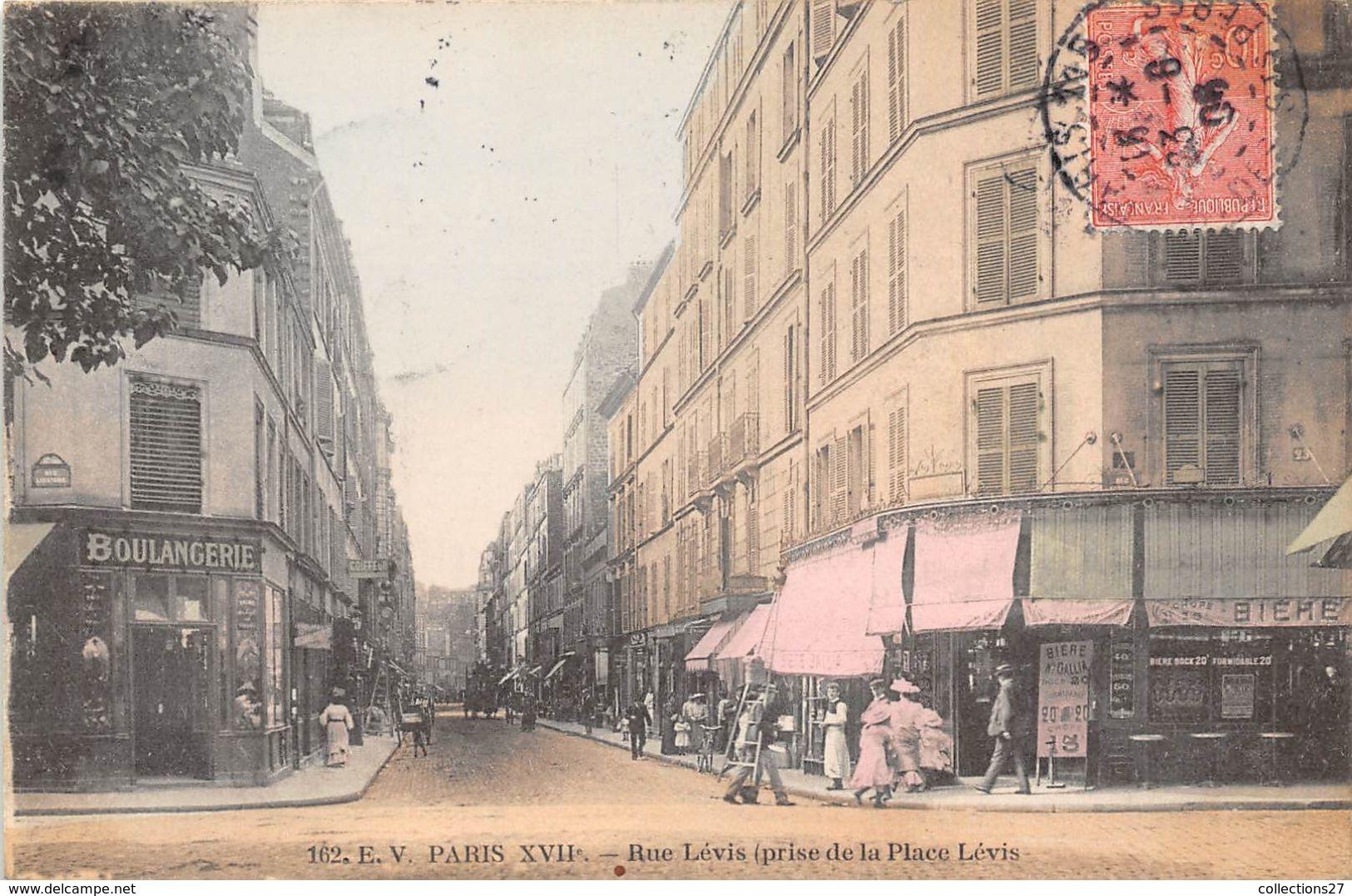 PARIS-75017- RUE LEVIS- PRISE DE LA PLACE LEVIS - Arrondissement: 17