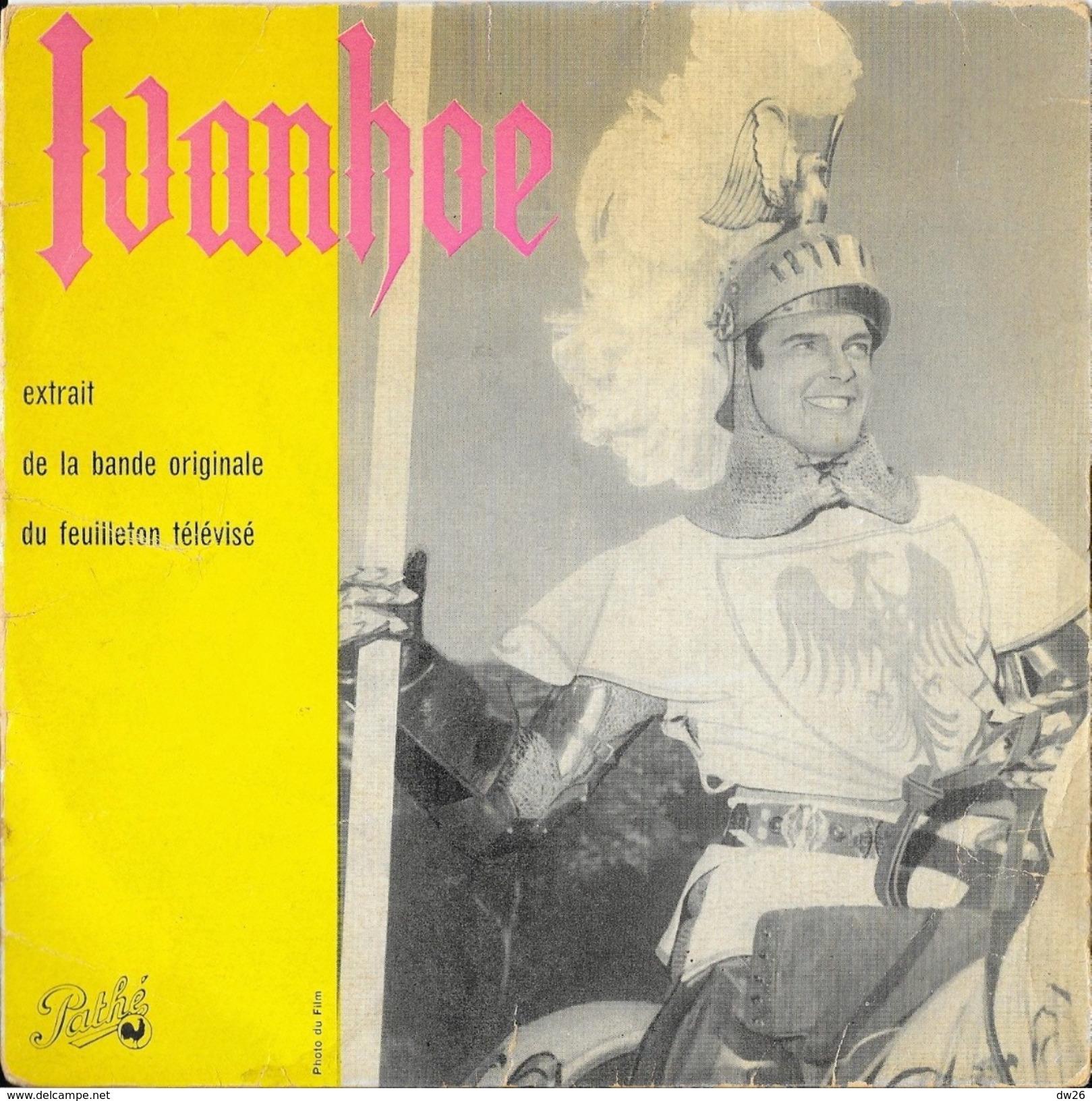 Disque 45 T Pathé: Ivanhoe (feuilleton Télévisé 1958) - Photo Roger Moore - Filmmusik