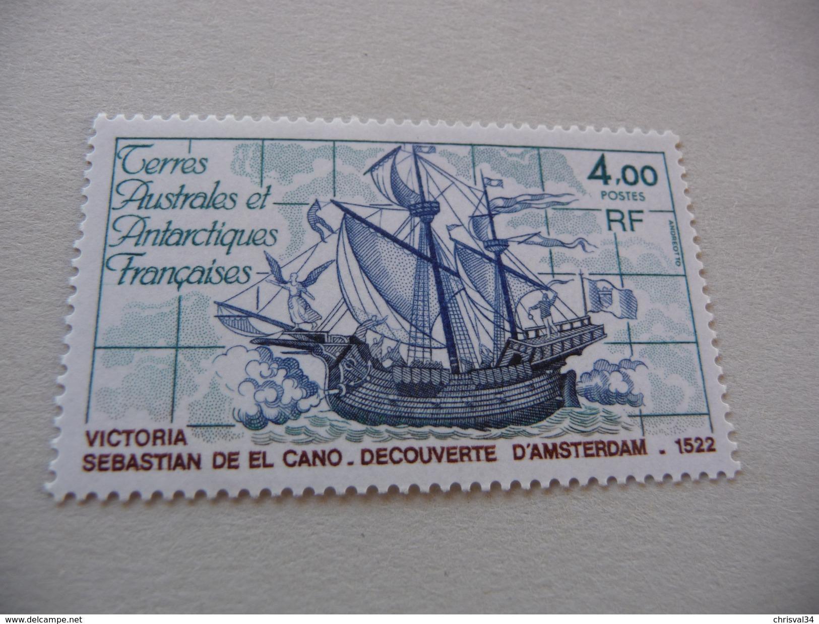 TIMBRE    TAAF     N  85       COTE  3,00  EUROS     1979    NEUF  LUXE** - Ongebruikt