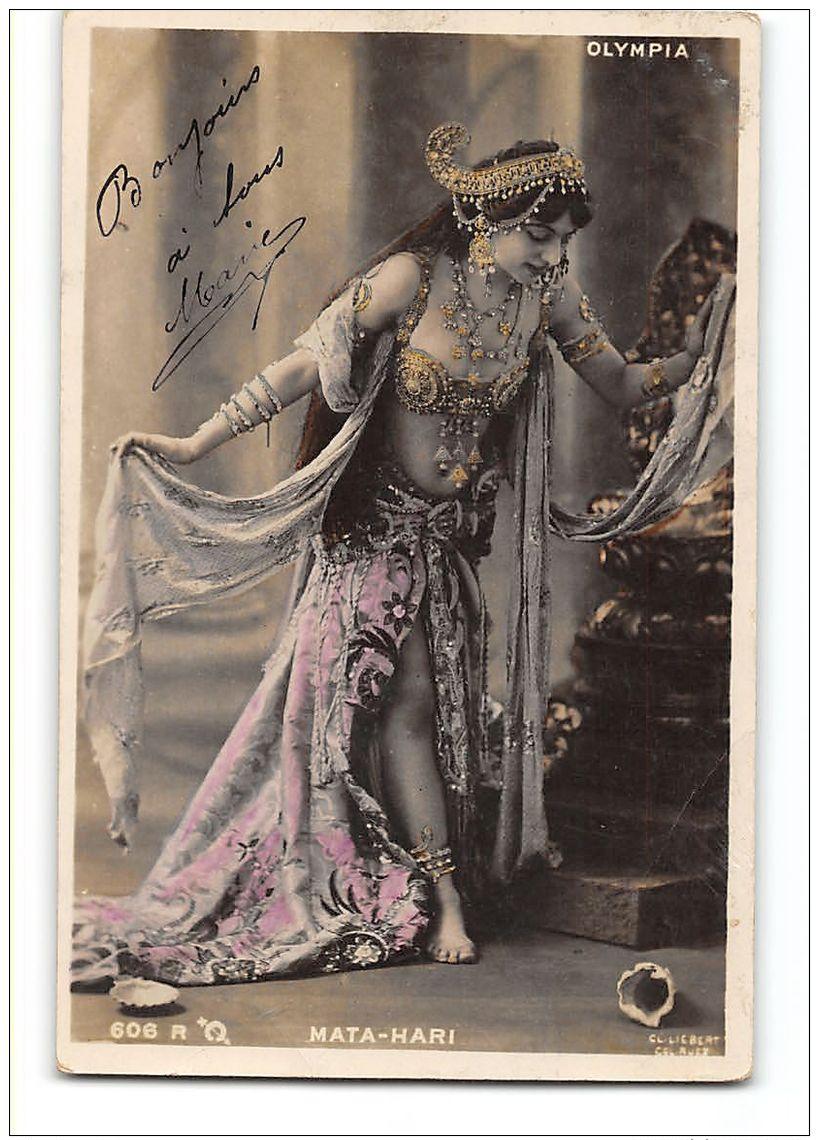 CPA Olympia Mata Hari - Artistes