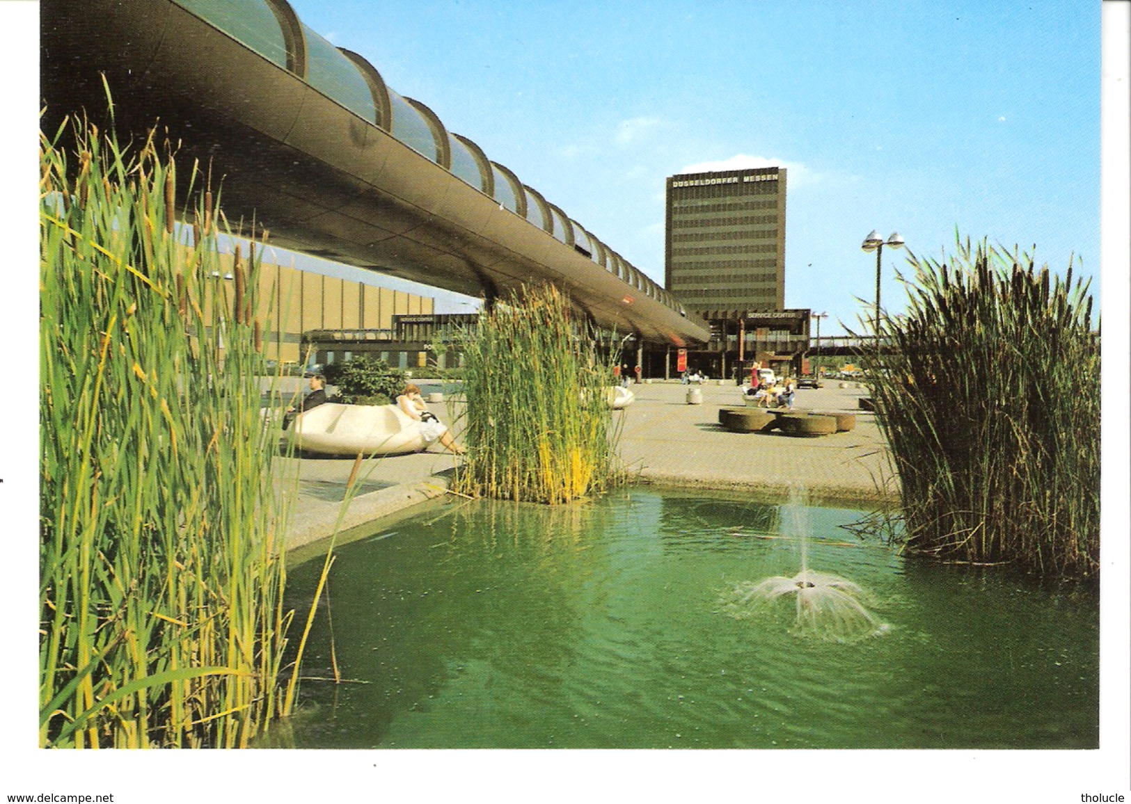 Düsseldorf-(Rhénanie Du Nord-Wesphalie-Deutschland)-Messe-und Kongress-Zentrum-Verlag Hans Georgi, 4 Düsseldorf - Düsseldorf