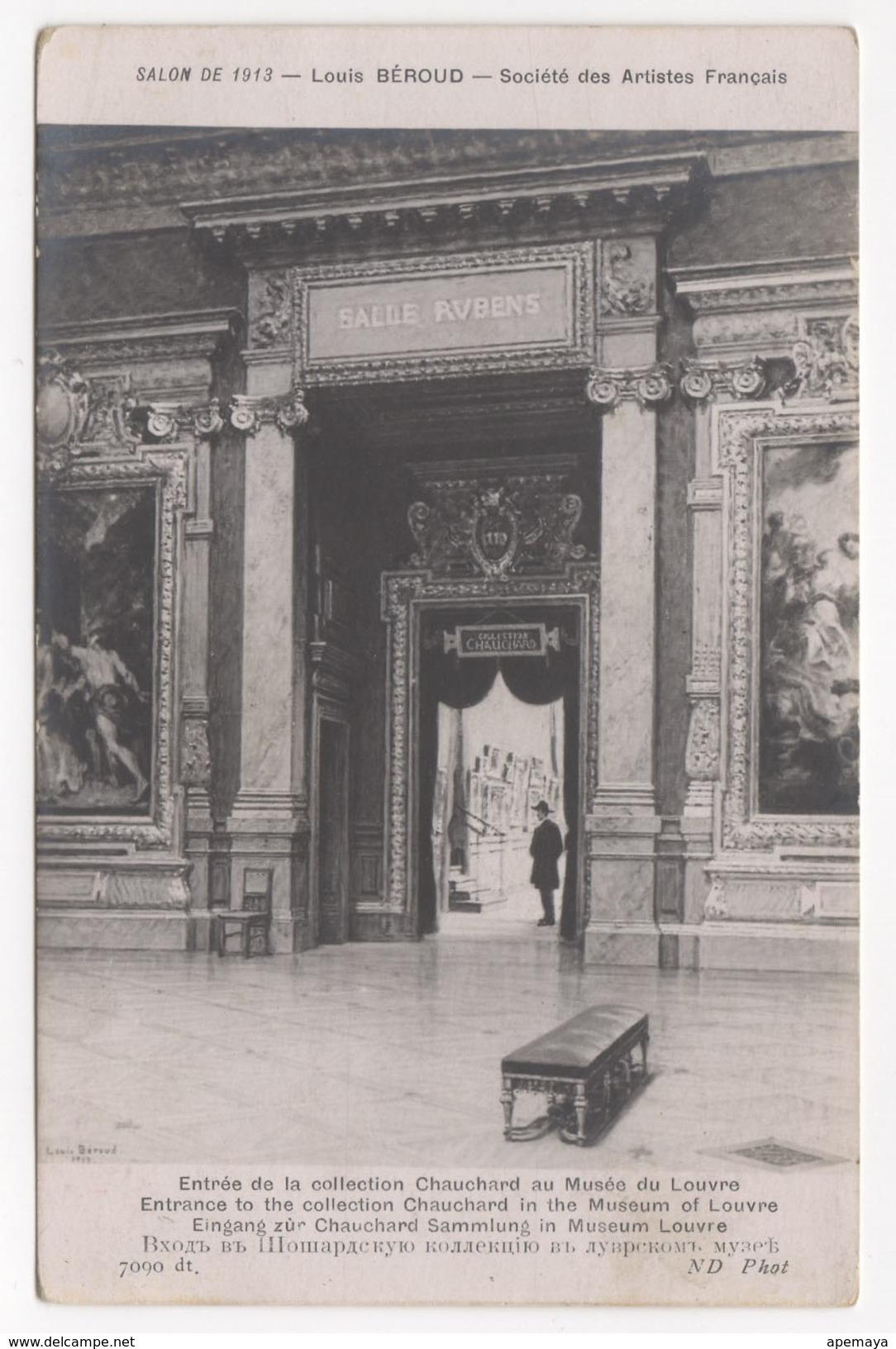 Salon De 1913-Louis Beroud - Society Des Artistes Français. Mousee De Louvre. - France
