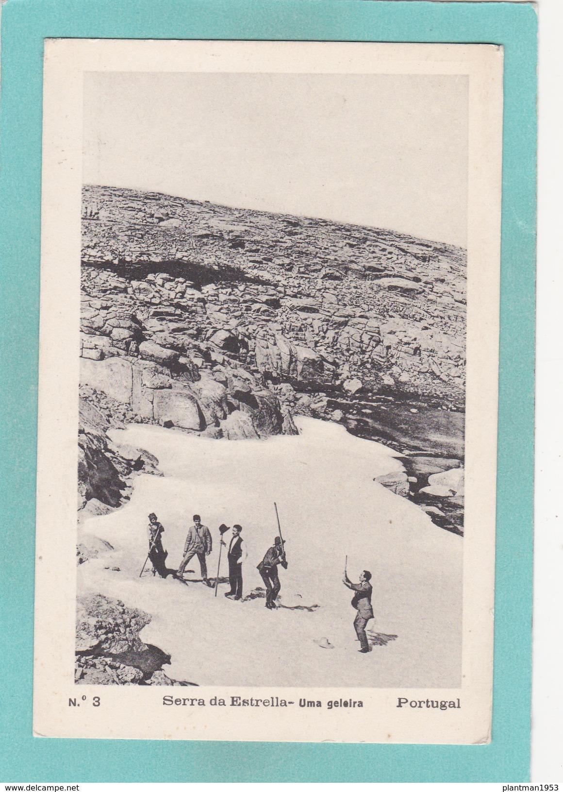 Old Postcard Of Serra Da Estrela, National Park,Portugal..V17. - Other