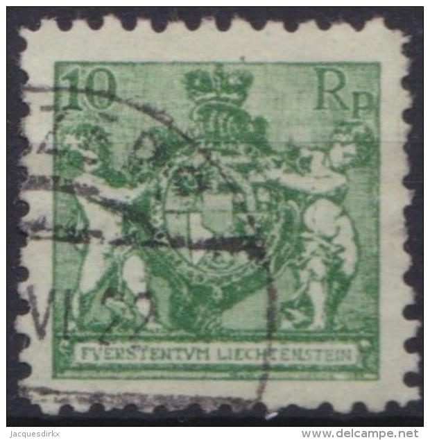 Liechtenstein   .    Yvert   .    49 B           .    O     .          Gebraucht - Liechtenstein