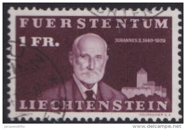 Liechtenstein   .    Yvert   .   164      .        O     .          Gebraucht - Liechtenstein