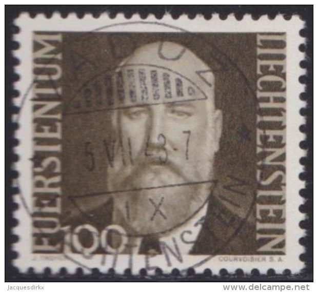 Liechtenstein   .    Yvert   .   191         .        O     .          Gebraucht - Liechtenstein