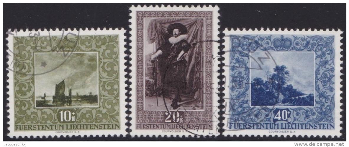 Liechtenstein   .    Yvert   .      263/265          .        O     .          Gebraucht - Liechtenstein